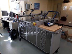 Photo de l'imprimante 3D du Secteur AIMS de l'INLB