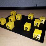 Test de Corsi modélisé en 3D par le secteur AIMS de l'INLB